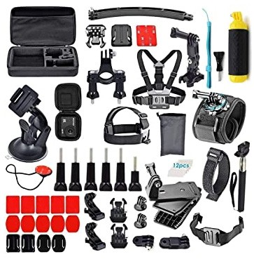 Adofys 61 in 1 Action Camera Accessories Kit