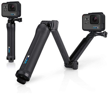 GoPro 3 Way Mount Tripod for Cameras