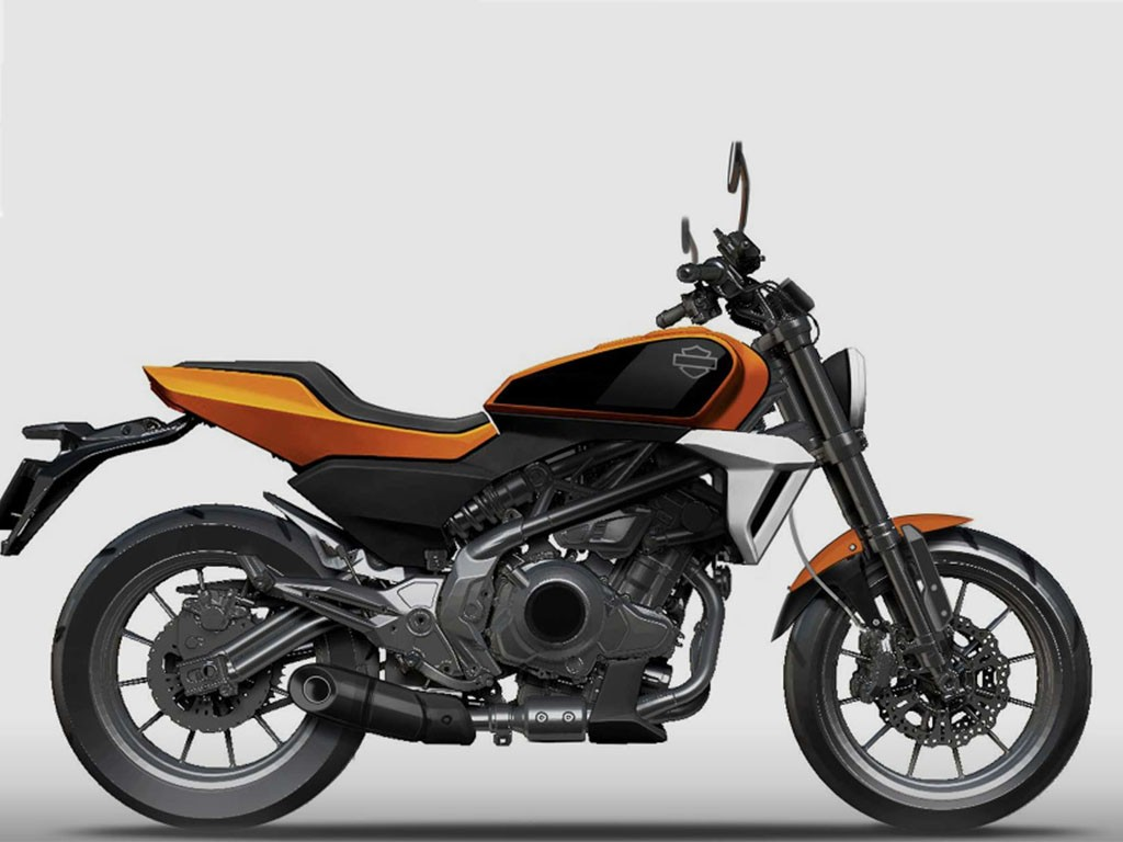 Harley-Davidson partners with Zhejiang Qianjiang in China to produce a 388 cc motorcycle