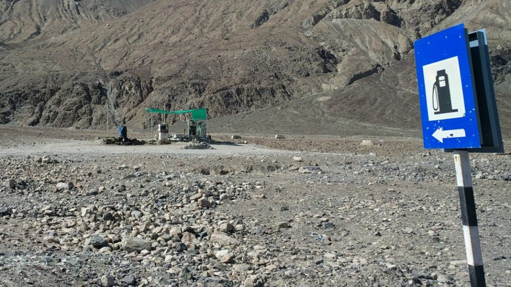 Nubra Valley Petrol Pump