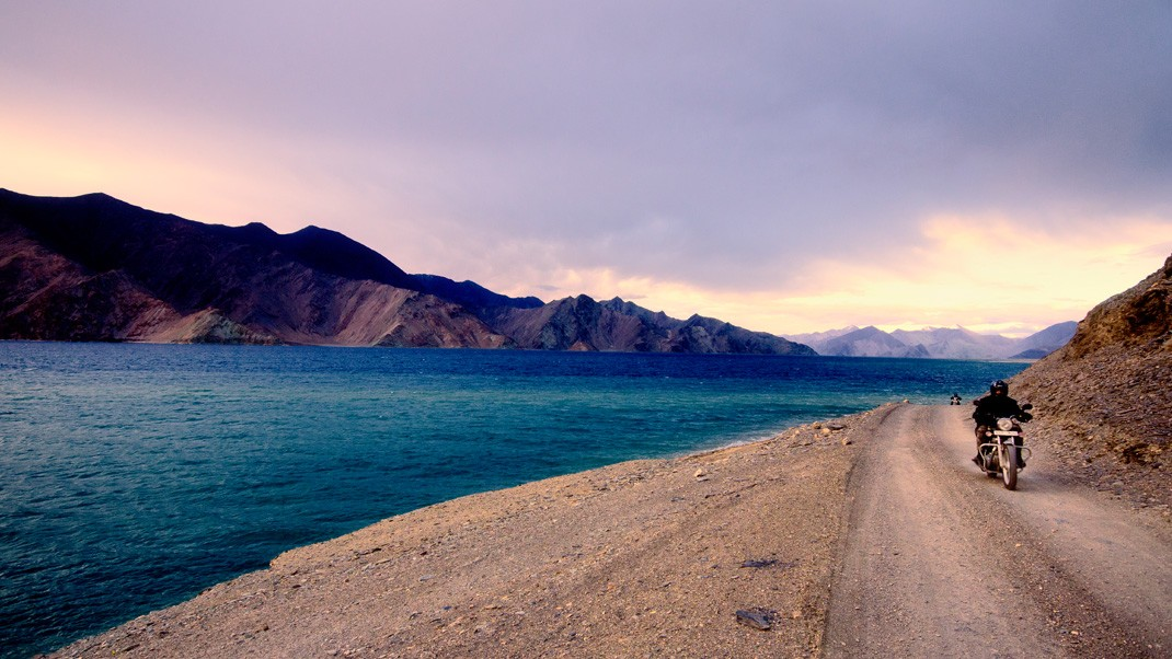 pangong Lake Route