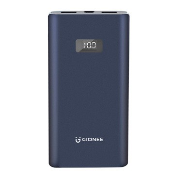Gionee 10000mAh Li-Polymer Digital Display Power Bank