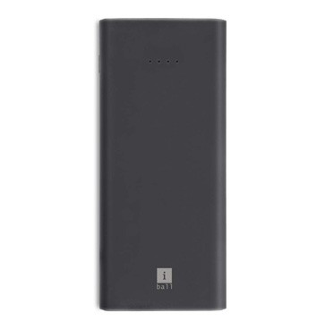 iBall 10000mAh Li-Polymer Slim Design Smart Charge Powerbank